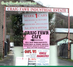 Craig Fawr Industrial Estate