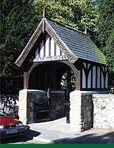 St. Melyd Church entrance