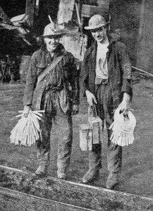 Tin Miners ready for work